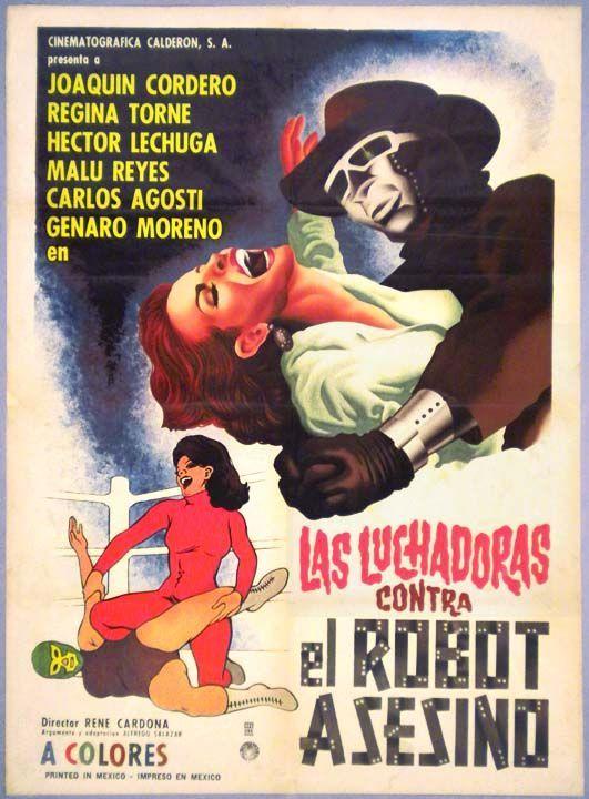 luchadorasvselrobot-poster