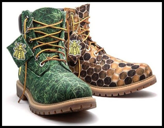 timberland pharrell williams bee line grass et honey