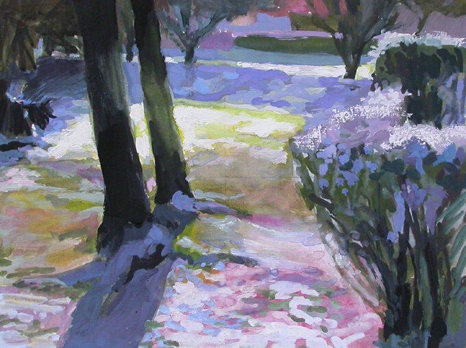 2006-Matin d' hiver-acrylique-16x22cm