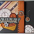 Mini album destination aventure
