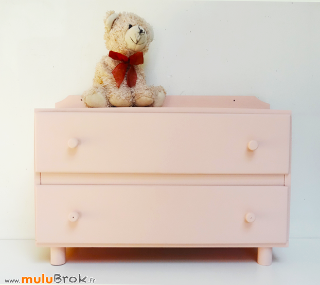 Ancienne-COMMODE-POUPEE-Rose-4-muluBrok-Vintage