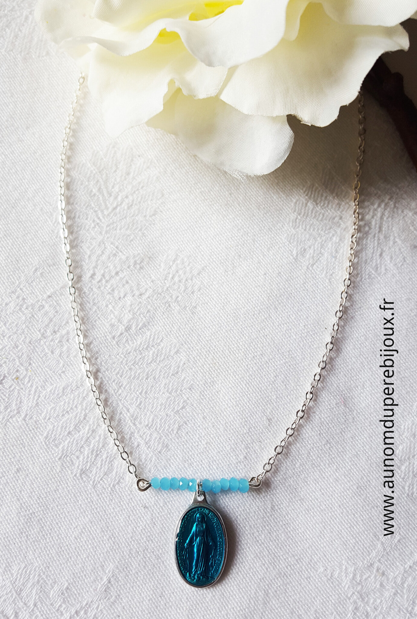 Collier Maria (turquoise) - 15 €