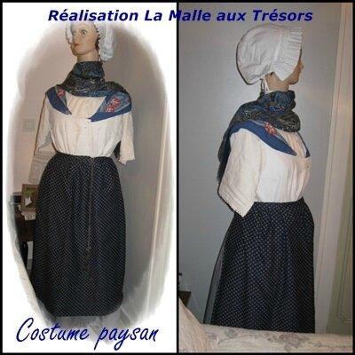 costume de paysanne