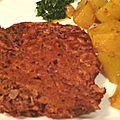 Burgers épicés aux haricots rouges