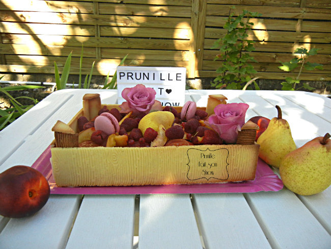 gateau cagette de fruits prunillefee 7