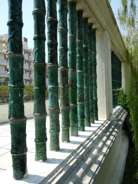 Cloture bambous