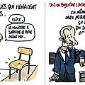 macron humour lrem arabiesaoudite eduction nationale, prof violence