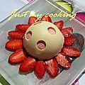 Délice aux fraises (thermomix ou non)
