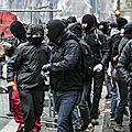 A lyon, une manifestation anti-fn émaillée d'incidents