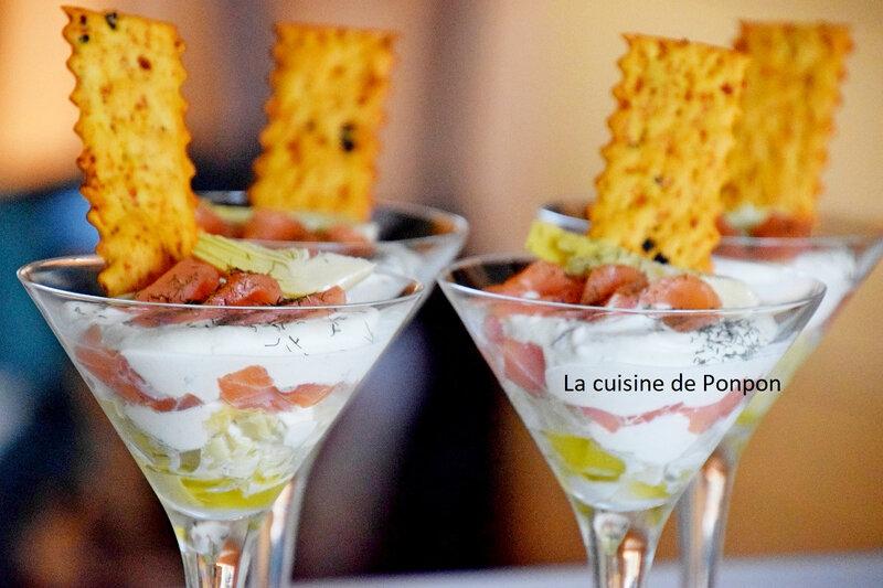 verrine saumon et artichaut (8)