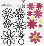 pochoir X-cut fleurs
