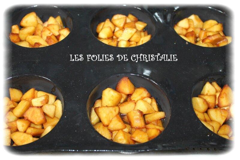 Flans aux pommes 6