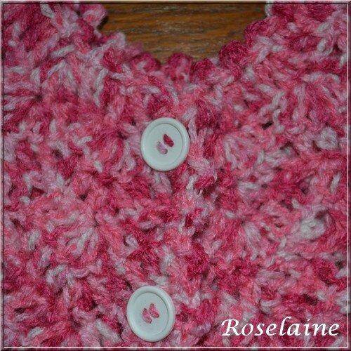 Roselaine035 gilet pétale