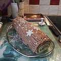 Bûche traditionnelle