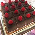 tablette cocolat framboise