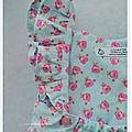 La robe aux bretelles froufrous