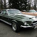 Shelby gt500 kr fastback coupe - 1968
