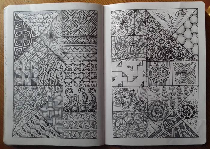 zentangle defi 2018 09