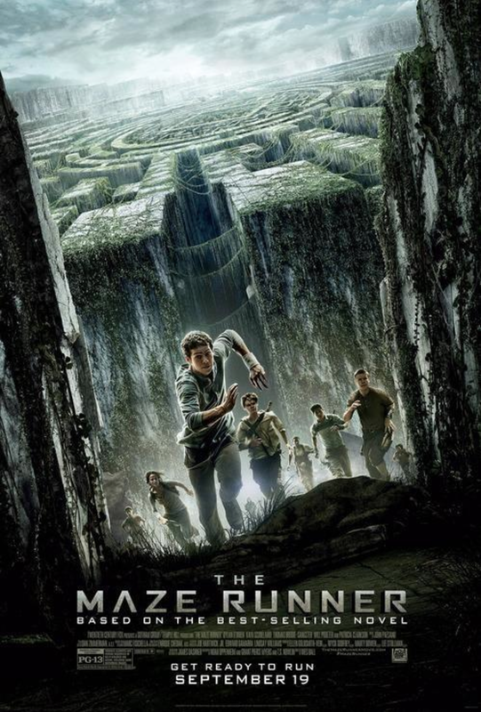 The Maze Runner Official movie poster