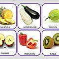 Loto des fruits et légumes