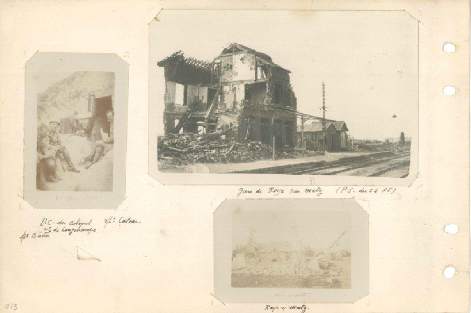 p.213 Offensive sur l'Aronde et le Matz 24e RI (21 juin – 8 septembre 1918)