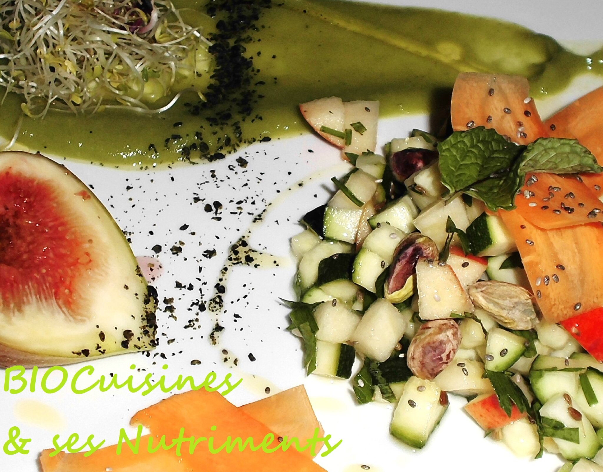 courgette pomme avocat