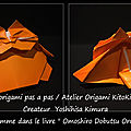 Origami animaux drôles -gros chat-