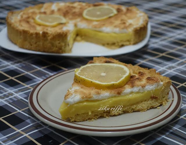 tarte citron bergamote meringuée 3