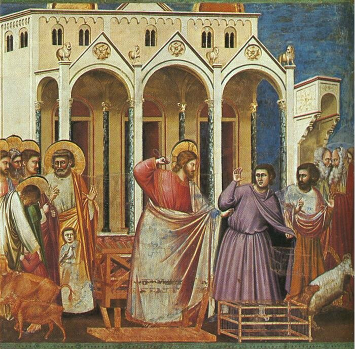 Purification du Temple, Giotto