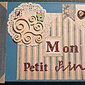 Mini album bebe : mon petit prince (suite)