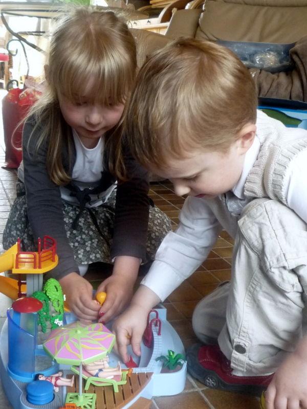 Arthur et Emmeline - 4 ans