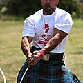 2011 Amine AMROON aux Highland Games de Hongrie