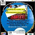 Conf. rillauds d'anjou et des vins de brissac - tournoi open de golf - 07/04/2013