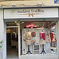 Madame frou frou valencia espagne vêtement