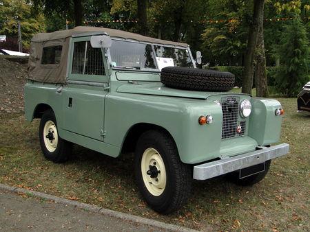Land Rover type 88 1958 1961 Bourse de Créhange 2009 1