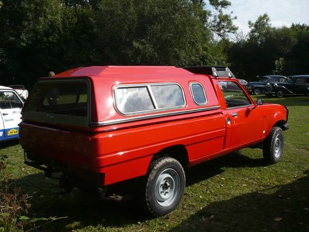 PEUGEOT 504 pick -up Dangel 4x4 avec hardtop Lipsheim (2) (1)