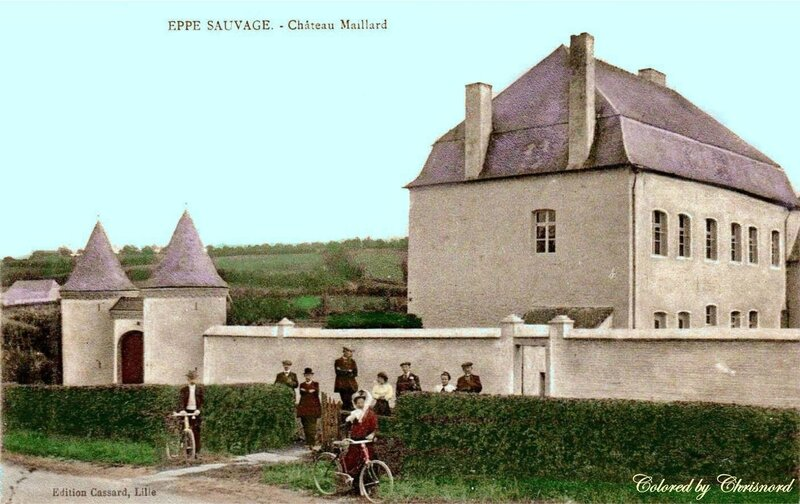 EPPE-SAUVAGE - Le Château Maillard - colored by Chrisnord