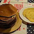 Les american's pancake