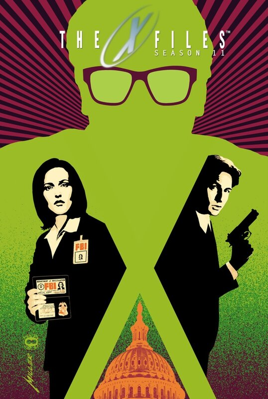 IDW x-files season 11 vol 1 HC