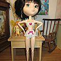 lingerie en dentelle blanche nœuds fuchsias (pullip - momoko) plus disponible pour le moment