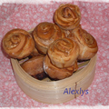 Cinnamon rolls - 1 ou 2 pts/piece