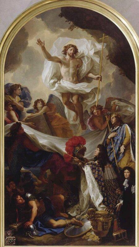 Le Brun Charles la Resurrection du Christ 1674-78 Lyon