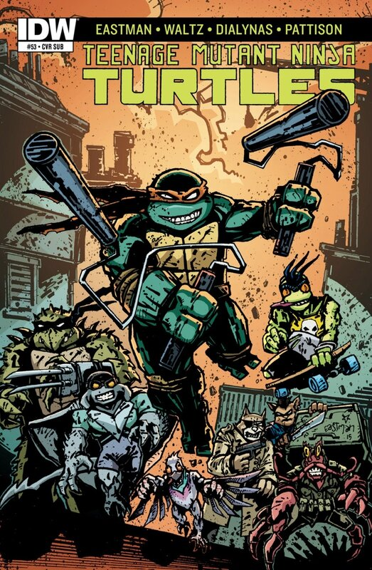 IDW TMNT 53 sub cover