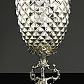 A german parcel-gilt silver cup and cover, jeremias flicker ii, augsburg, 1606-10