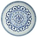 A rare blue and white 'lianzi' bowl, Xuande mark and period (1426-1435)