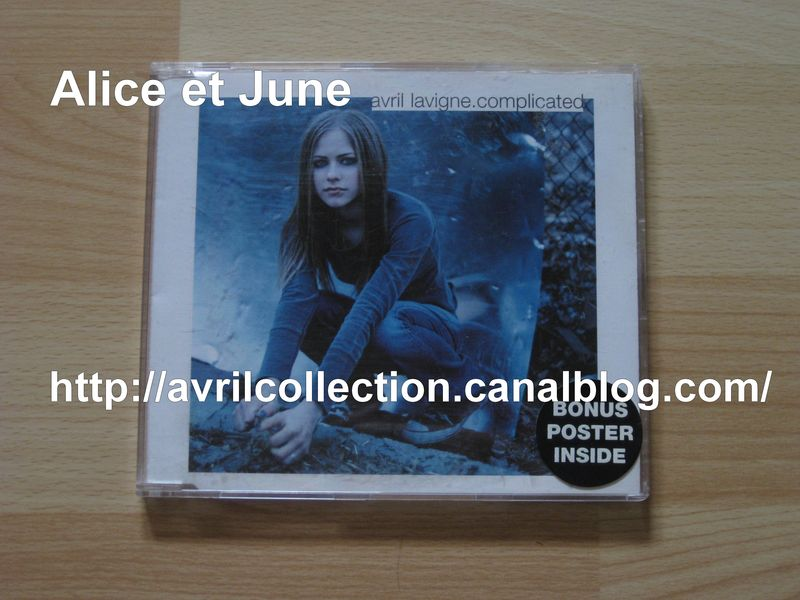 Maxi CD Complicated-version australienne (2002)