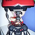 La virtual boy de nintendo.