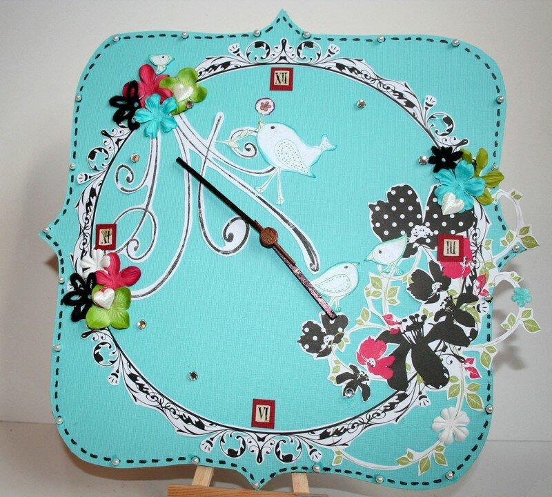 Horloge Scraproom
