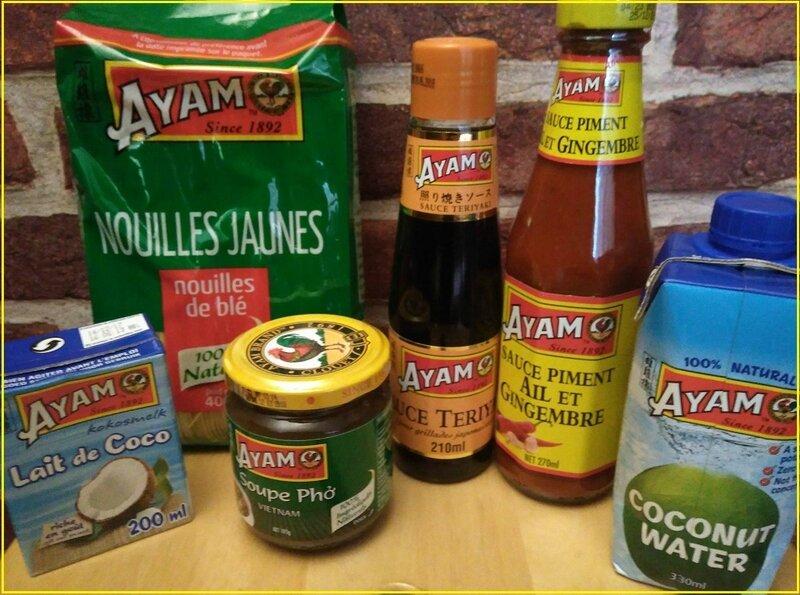 Mon nouveau partenariat : AYAM - La cuisine de Biduline