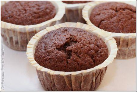 muffins chocopralinoise